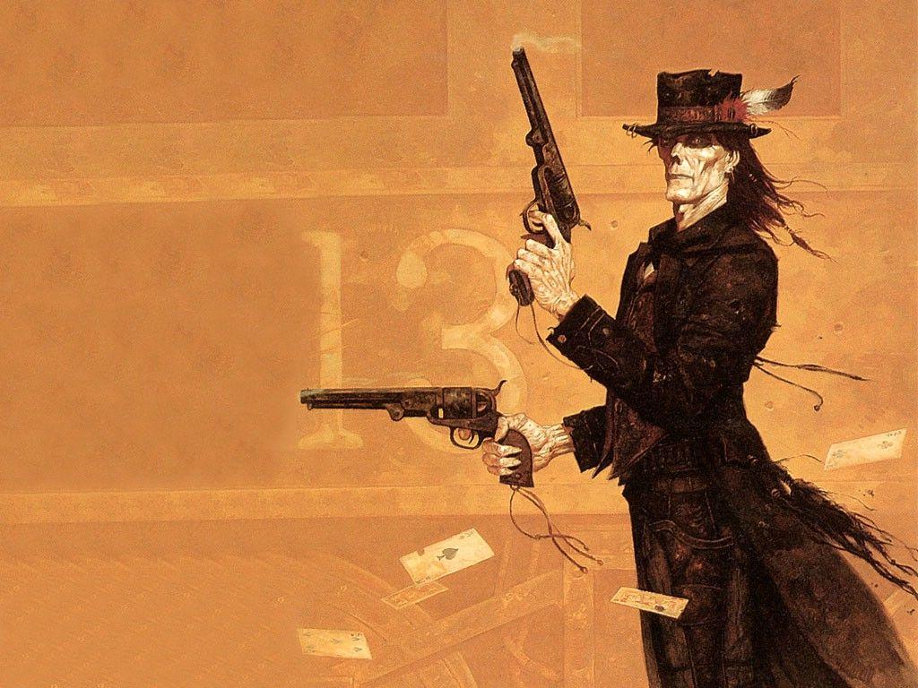 Gunfighter by brom zombie art concept art world fantasy art - Gunfighter wallpaper ...