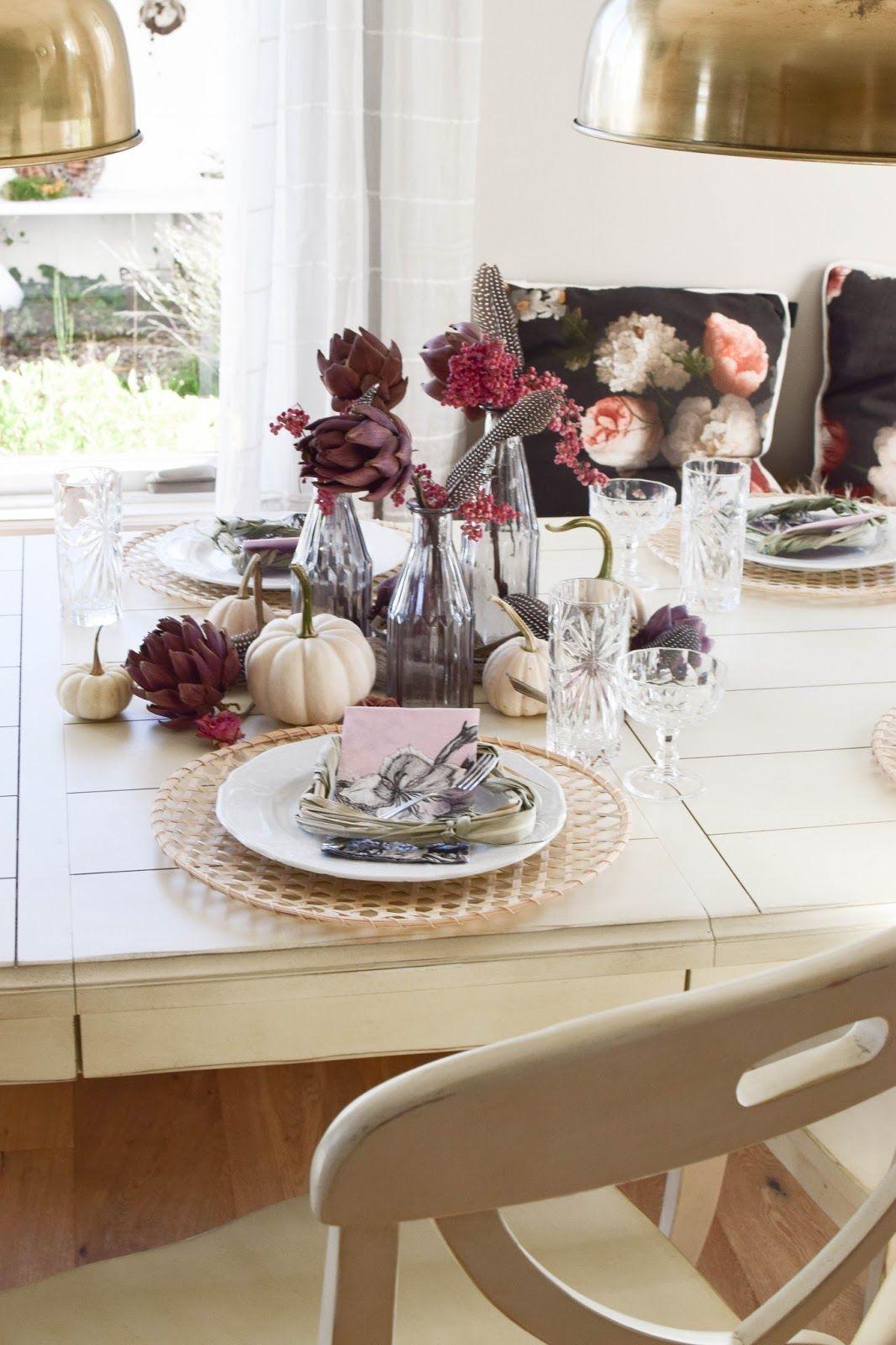 Mein Esszimmer Und Tischdeko Im Herbst Tablescapes Center Table