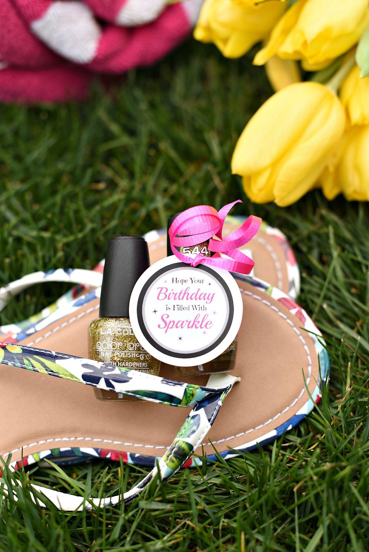 Cute nail polish gift diy gifts for friends diy gift