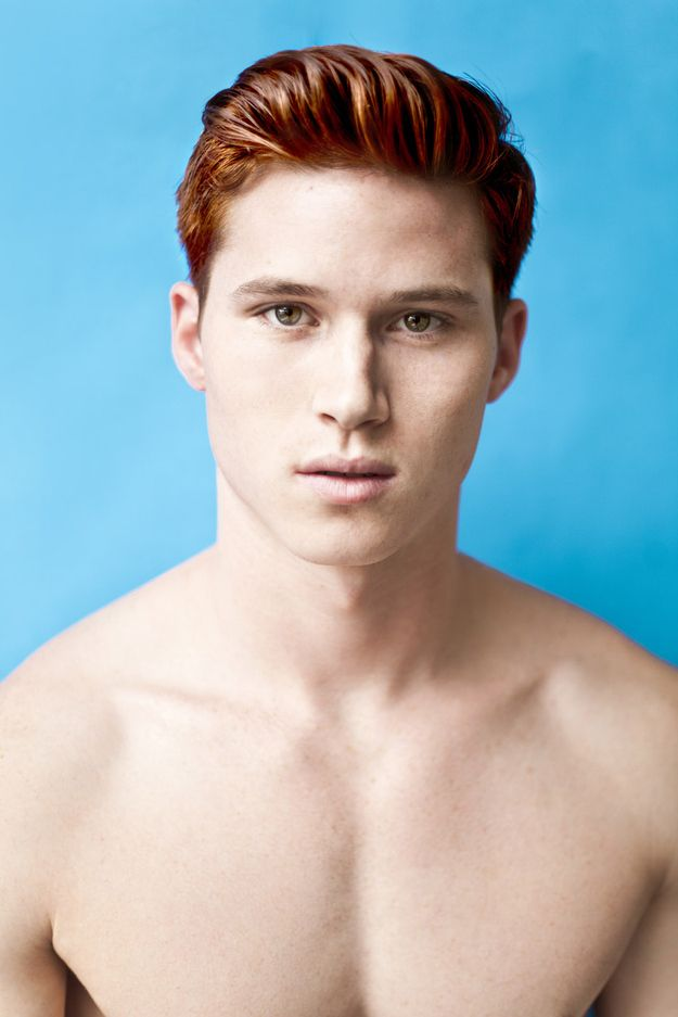 Pin By Cameron Rodriguez On Hair Styles Red Hair Men