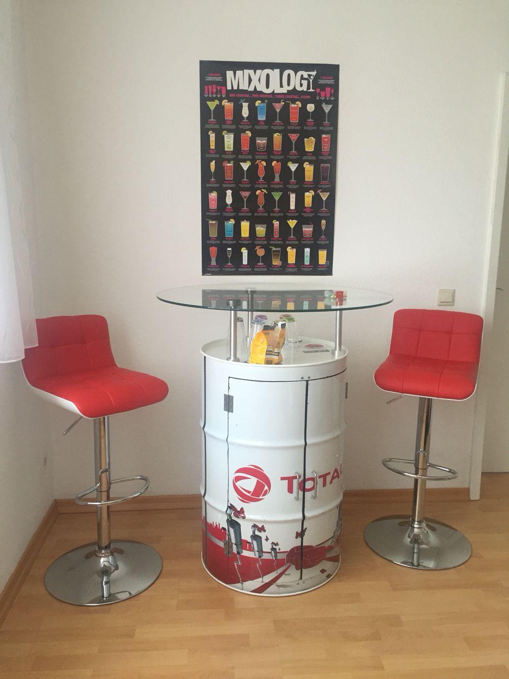 Bartisch Bar table DIY | Bar Tables | Pinterest | Bartisch, Bar und ...
