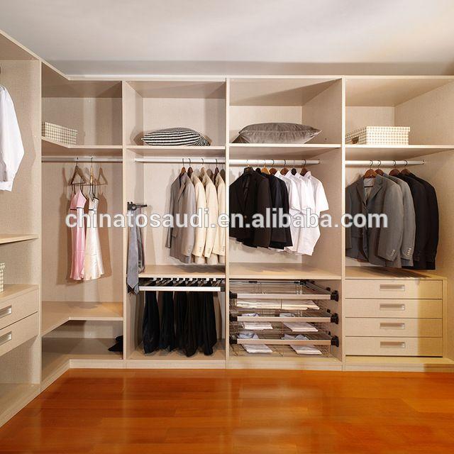 Furniture Custom White Mdf Wardrobe Clothes Closet Buy