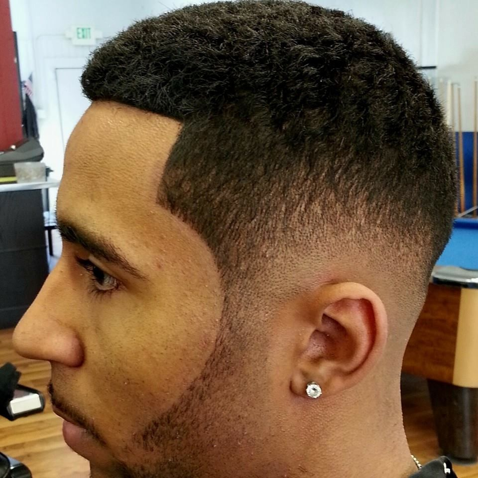 Different Types Of Fade Haircuts For Black Men Black Mens Beard