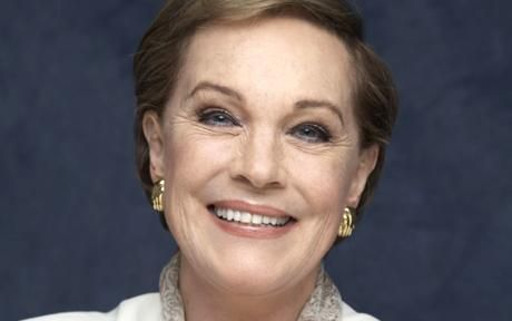 Julie Andrews - Beautiful, talented, elegant, gracious ...  I could list accolades all day for what this woman has meant to me.