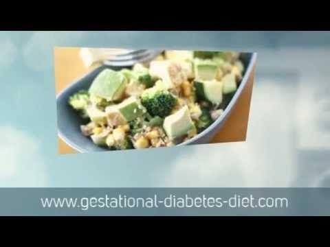 Warm Broccoli and Tofu Salad - gestational diabetes recipe