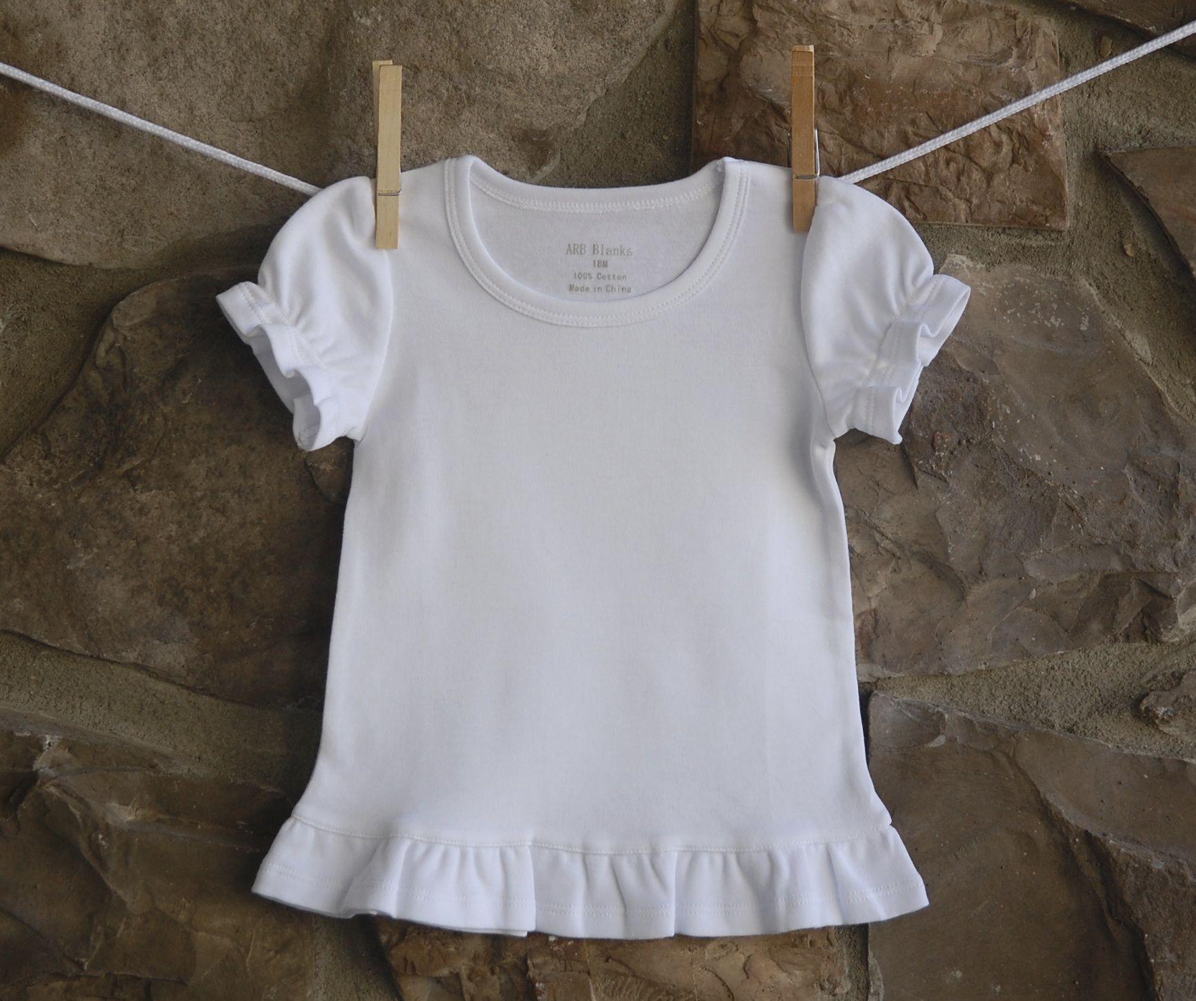Arb Blanks Ruffle Shirts Arb Blanks Products Pinterest