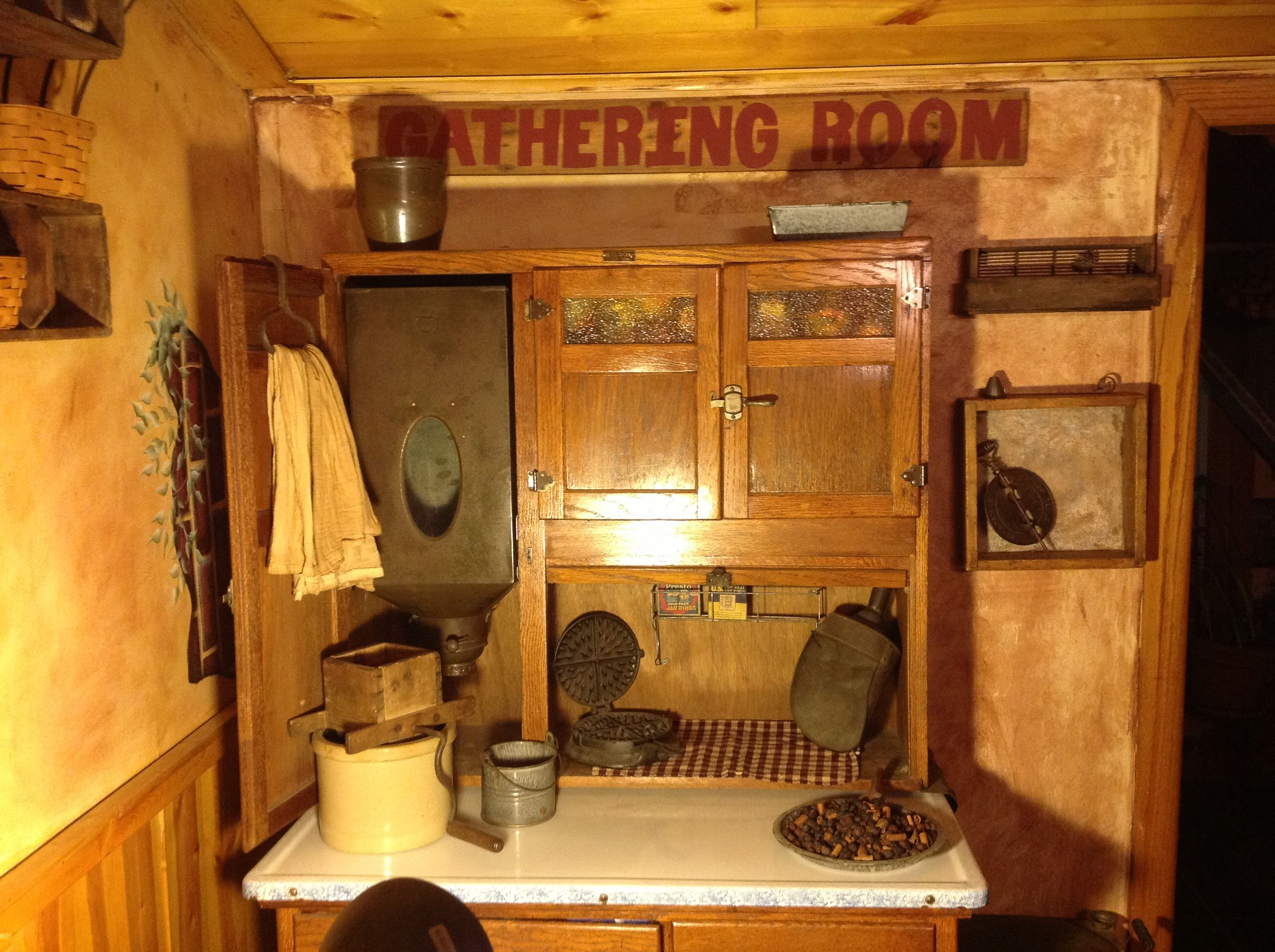 Not a Hoosier but a Wilson!   Vintage kitchen cabinets ...