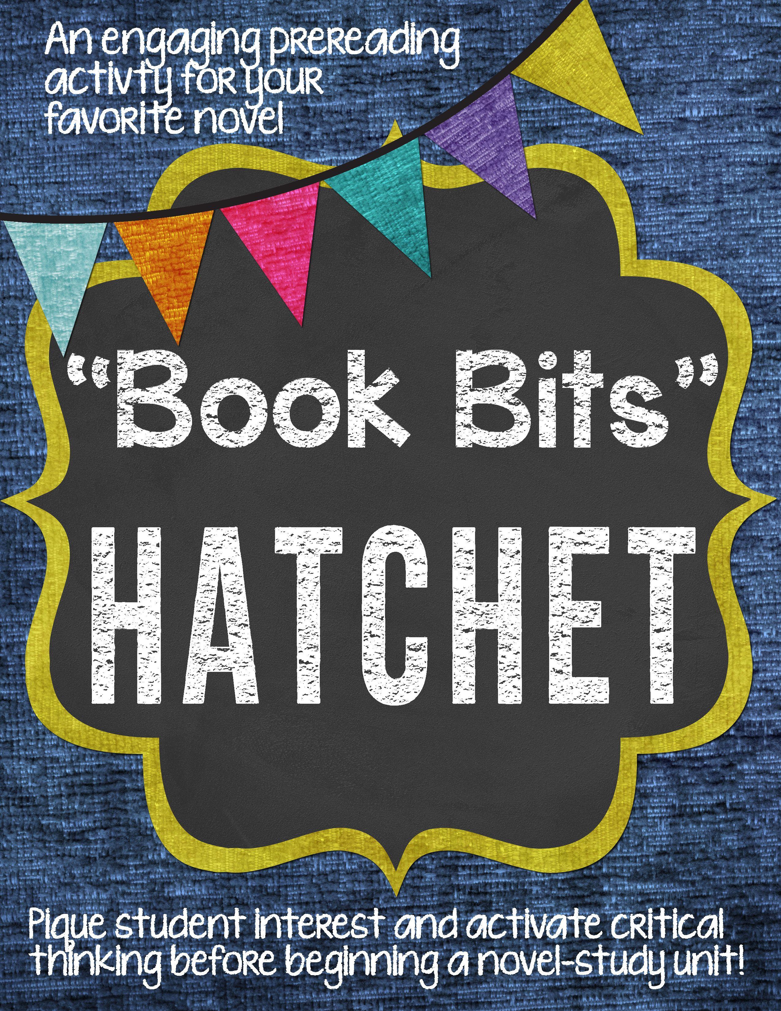 book bits a fun pre reading activity for hatchet pinterest pre rh pinterest com venn diagram