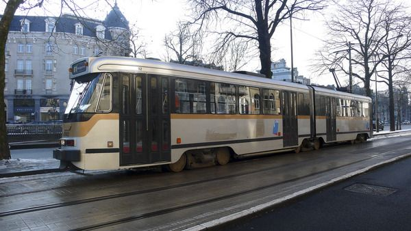 Трамваи в Брюсселе