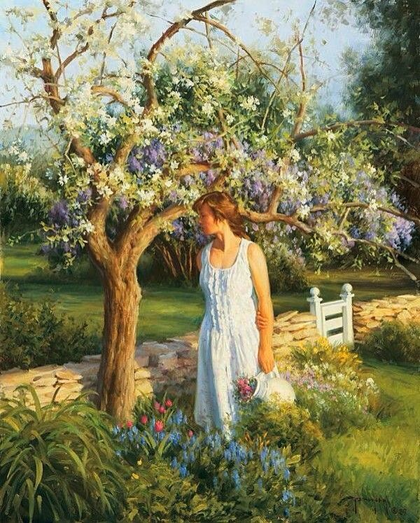 An English Garden~ Robert Duncan