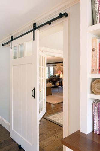 sliding door Barn Doors Galore Pinterest Interiores, Puertas