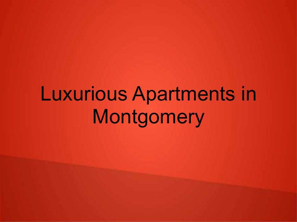 Apartments In Montgomery Where Available Better Living Environments