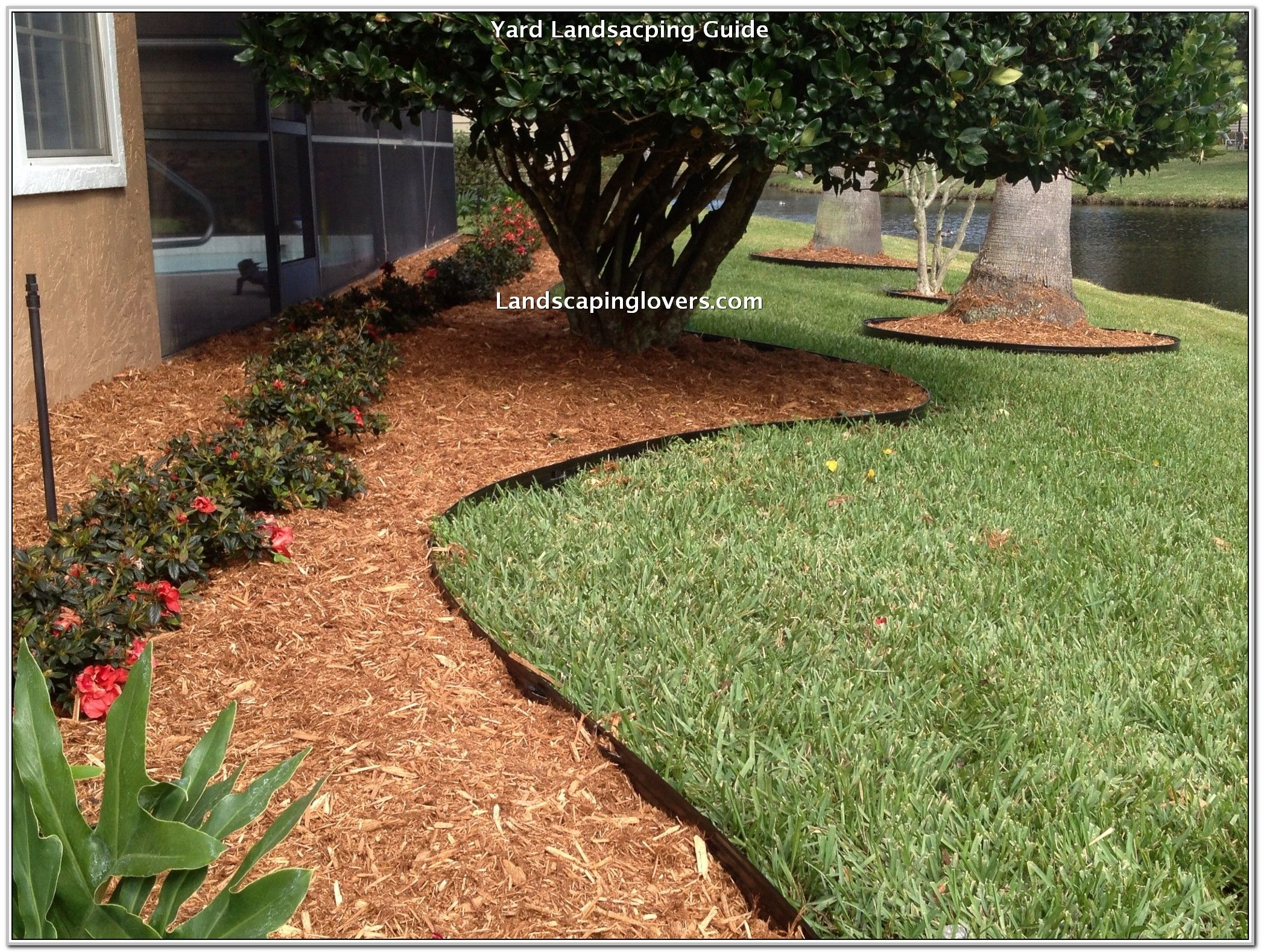 Landscaping Ideas And Inspiration Garden Edging Metal Landscape Edging Steel Edging Landscape