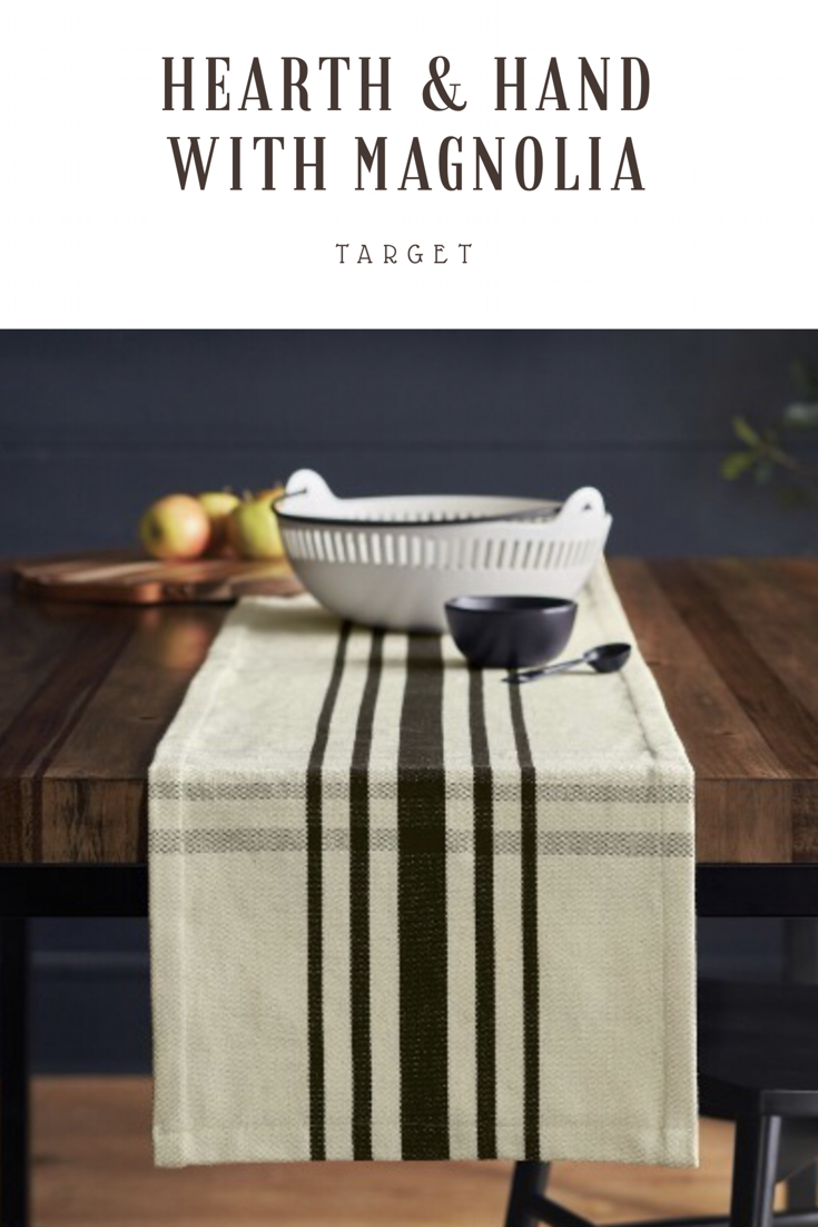 Such A Pretty Simple Table Runner Joanna Gaines Is A