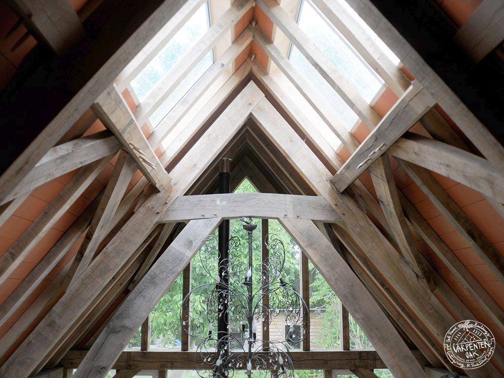 Oak Framed Extension In Netherlands Eikenhouten Huis