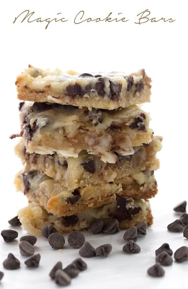 The ultimate low carb Magic Cookie Bars recipe. Made with sugar-free sweetened condensed milk, they are so ooey and gooey and only 5g total carbs!