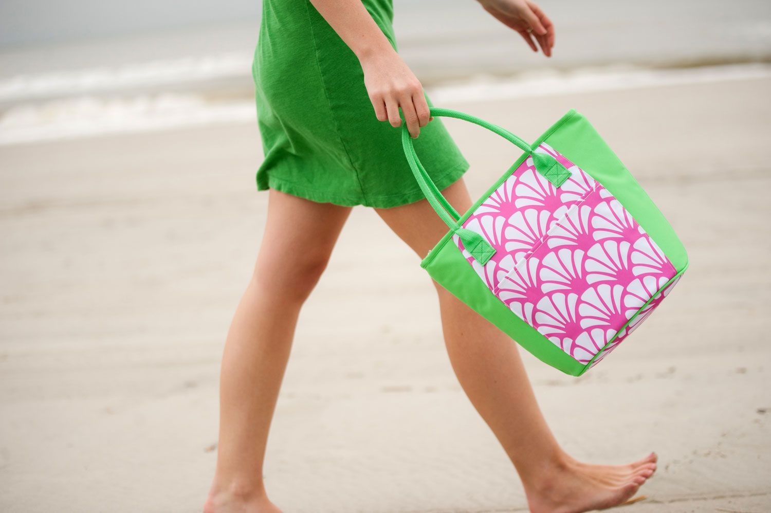 Shelly Cooler Bag Mongorammed  | The Preppy Pair