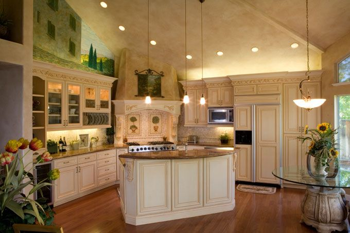 Amazing Spanish Style Kitchen.