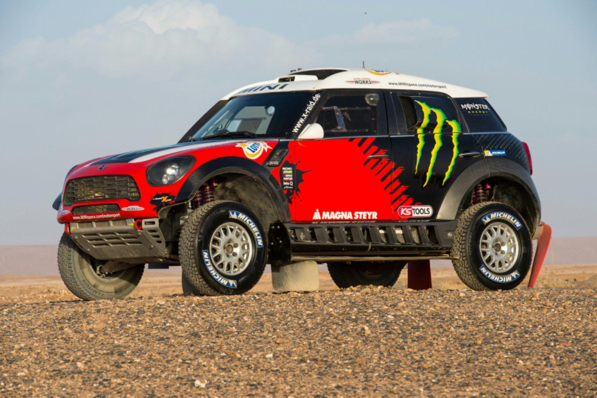 MINI 2014 Rally Dakar | Mini Cooper | Pinterest | Rally, 4x4 and ...