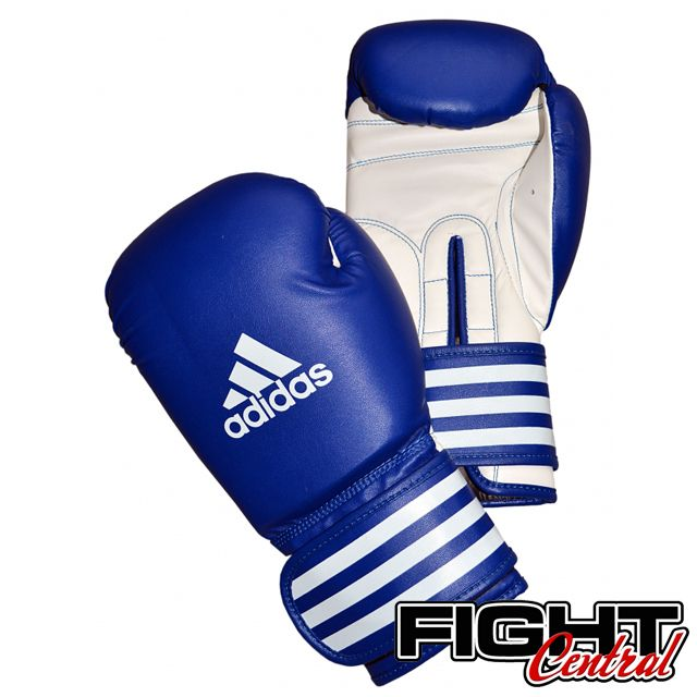New adidas Boxing Training Fitness Gloves Gym Gloves MMA Muay Thai Training-BLUE
