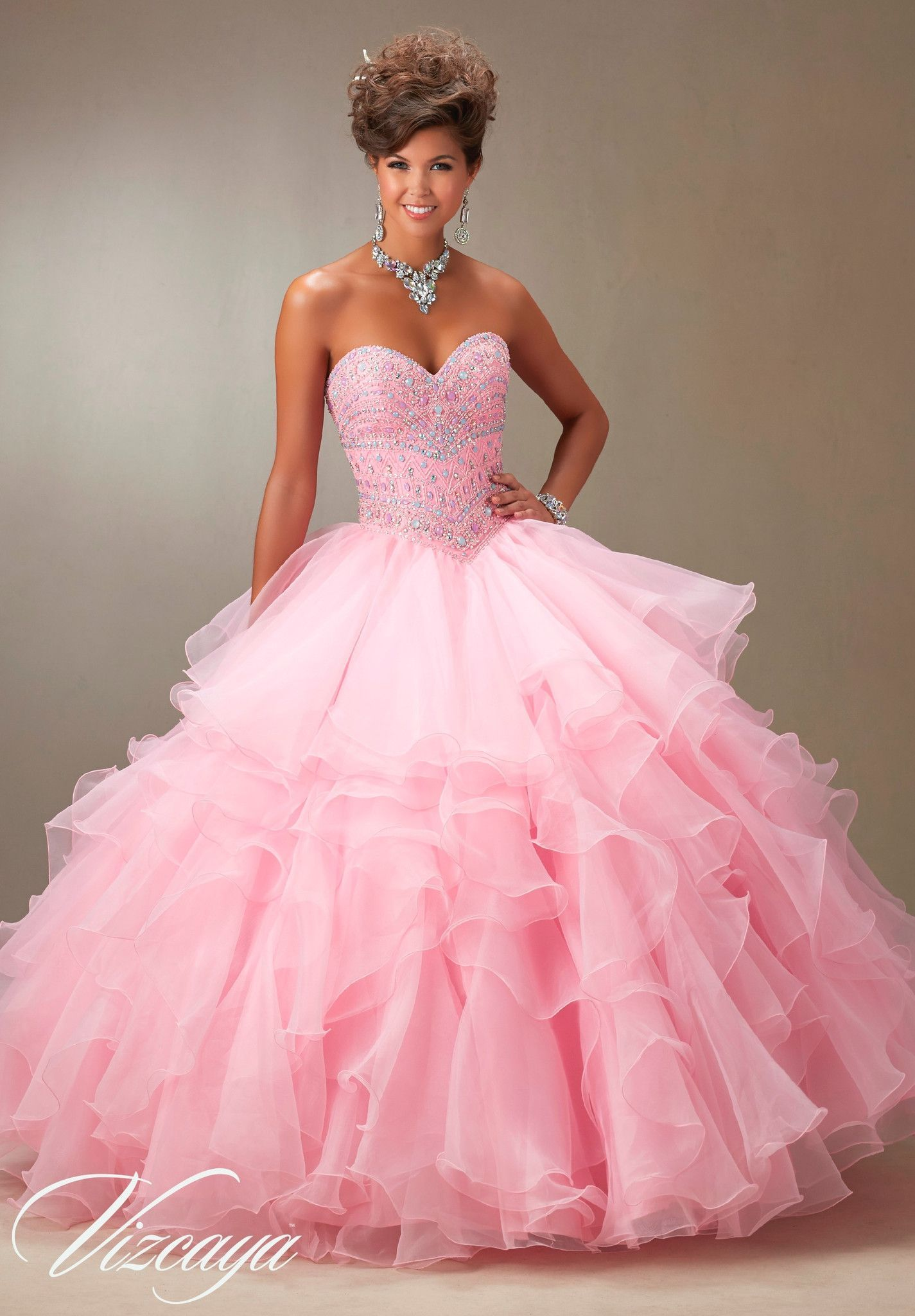 Mori Lee Quinceanera Dress 89061 | Vestidos de baile largos, 15 años ...