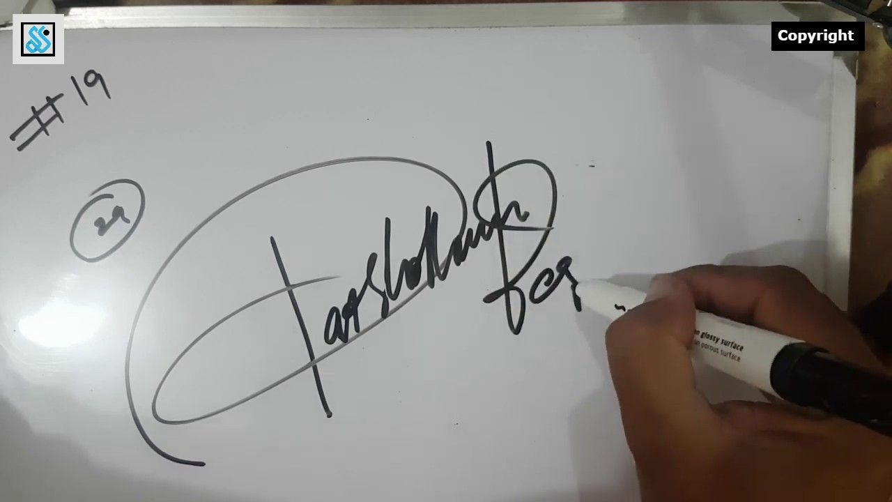 Very Impressive Signatures For Your Name Beginning With Alphabet