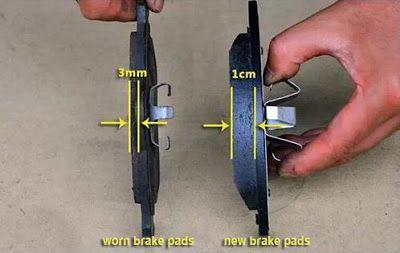 changing disc brake pads bike