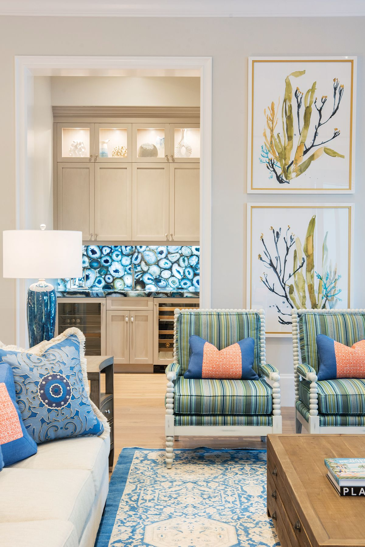 In Perfect Harmony Coastal Living Rooms Warm Grey Walls Home