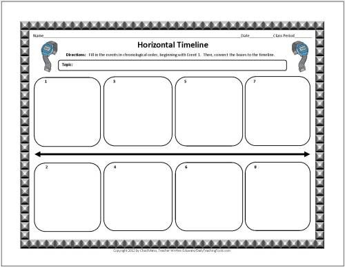 These Free Graphic Organizers Include Note Taking Charts Vocabulary