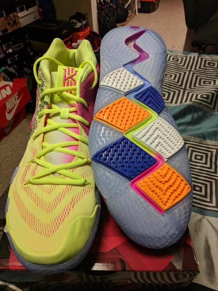 new concept 3e997 210ed Kyrie 4 Confetti | Kicks On Fire | Sneakers nike, Jordans ...