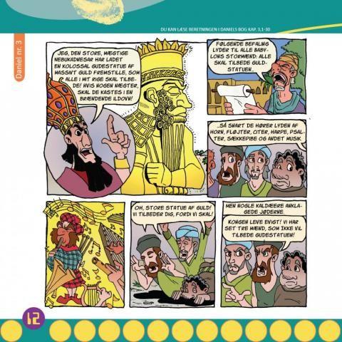 Jeg har tegnet 22 dobbeltsidede tegneserier til børne/junior-bladet NÅDADA gennem tidens løb. Dette har klart været min største udgiver, og arbejdet har stået på i 8 år ved siden af studie og lignende.