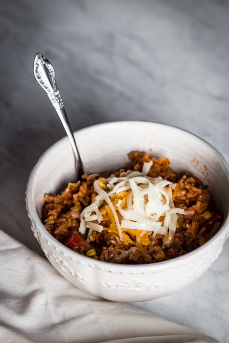 Instant Pot Mexican Beef Rice Small Farm Big Life In 2020 Gluten Free Recipes Easy Beef And Rice Easy Food To Make