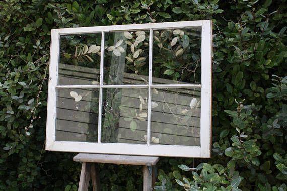 Vintage Wooden Window Pane Frame Rustic 6 Pane Window With Wood Window Frame Pane Weddingprop Craft Window Photo Frame Window Pane Frame Wooden Windows
