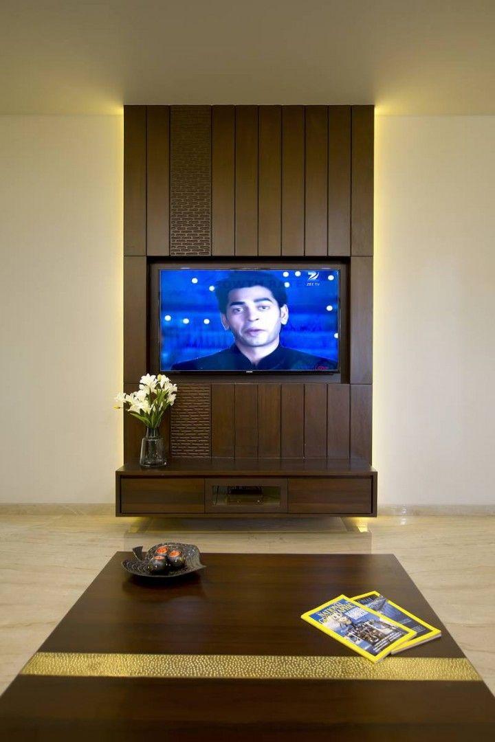 Lcd Unit Design Modern Tv: V D Apartment – A+t Associates