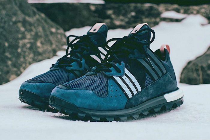Late contender for shoe of the year imo. Kith Aspen RF x Adidas Trail Boost