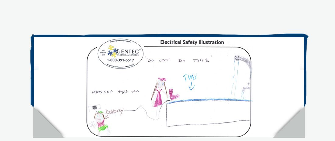 Our first Kid Electrical Safety Winner!