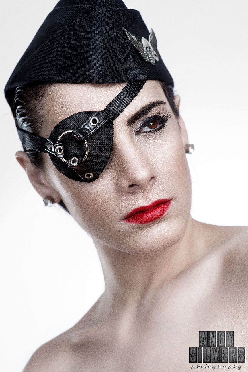 Gothfox Designs - Mr. O Ring Industrial Mens Eye Patch. Because ...
