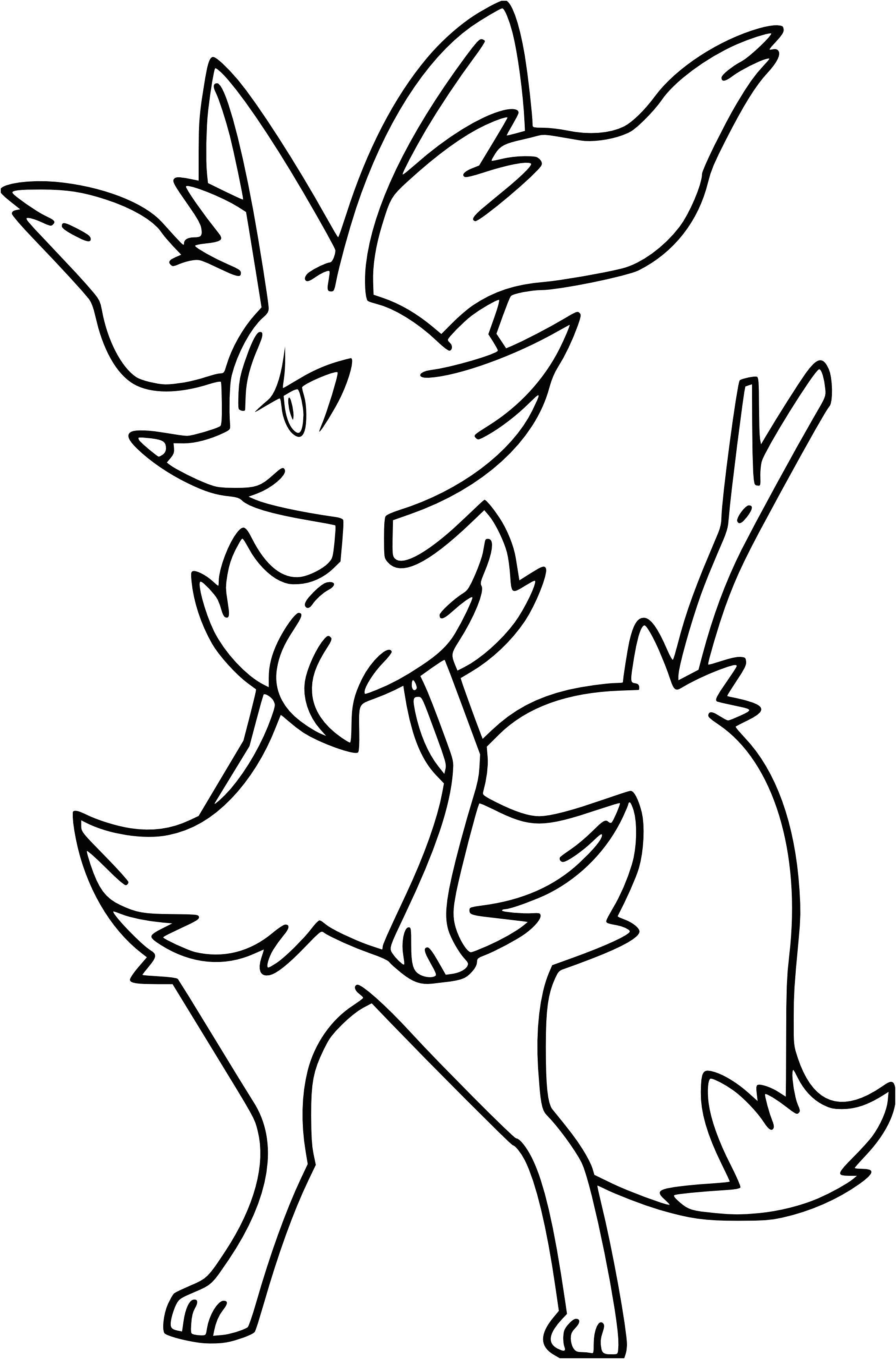 Dessin A Colorier A Imprimer Pokemon