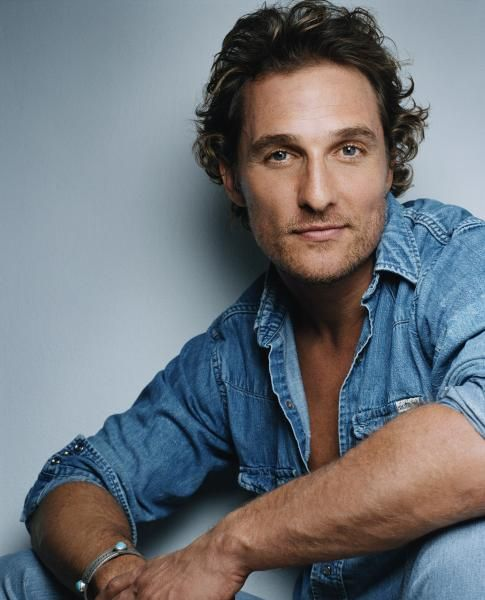 Matthew Mcconaughey...A bit of southern charm does a body good.