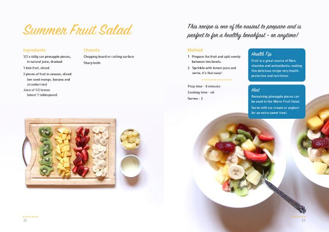 cookbook templates - Google Search | Blog inspiratie | Pinterest ...