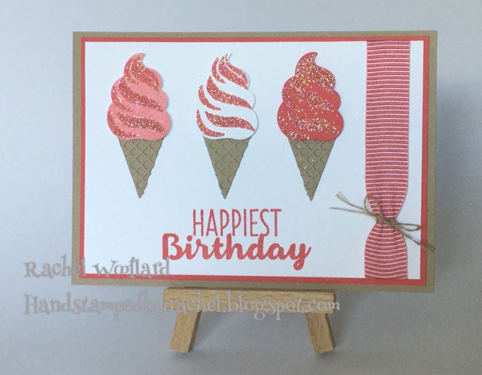 Sparkling Cool Treats Stampin Up Occasions 2017
