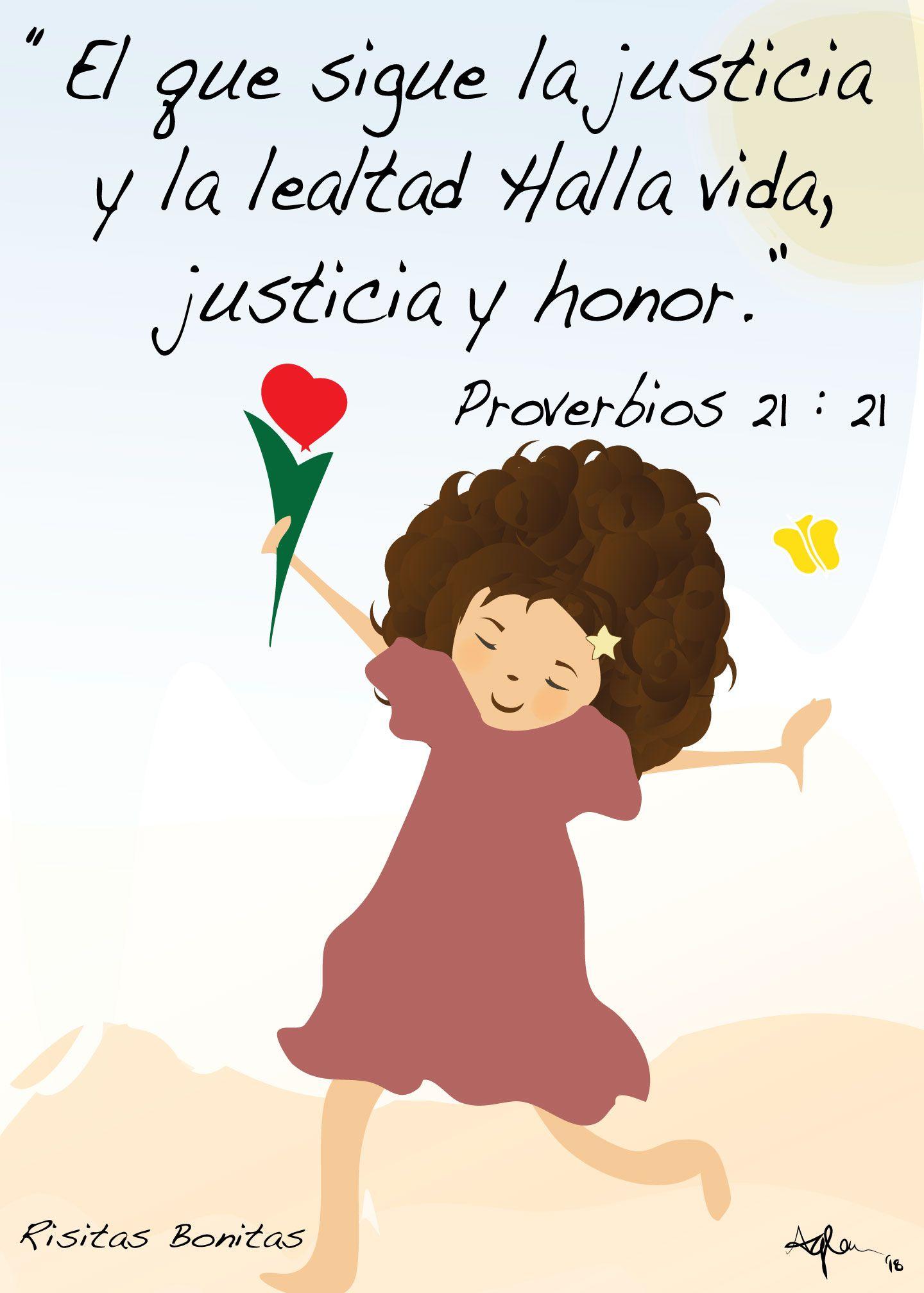 Sigue La Justicia Proverbios 21 Frases De Oracion Frases De Bendiciones