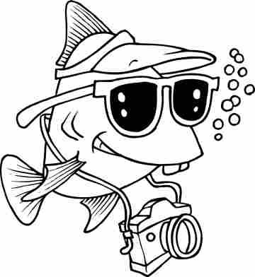 Fish Pictures To Color Get Narced Underwater Photography Great