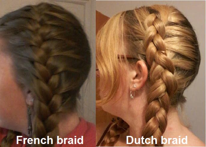 Dutch Plait Vs French Plait Use A Dutch Plait To Make Your Braid
