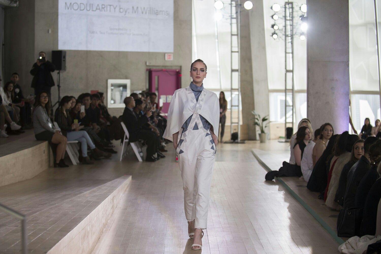 Ryerson University Massexodus2016 Fashion Show Outfit Crystalis By Bellantoni Designs Fashion Fashion Design White Formal Dress