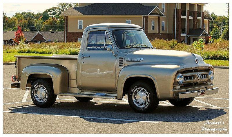 1956-ford-f00 pickup_truck | por Barbara Greg ℒℴѵℯ