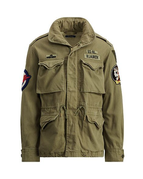 The Iconic M-65 Field Jacket - Polo Ralph Lauren Jackets - RalphLauren.com 387f2340e68