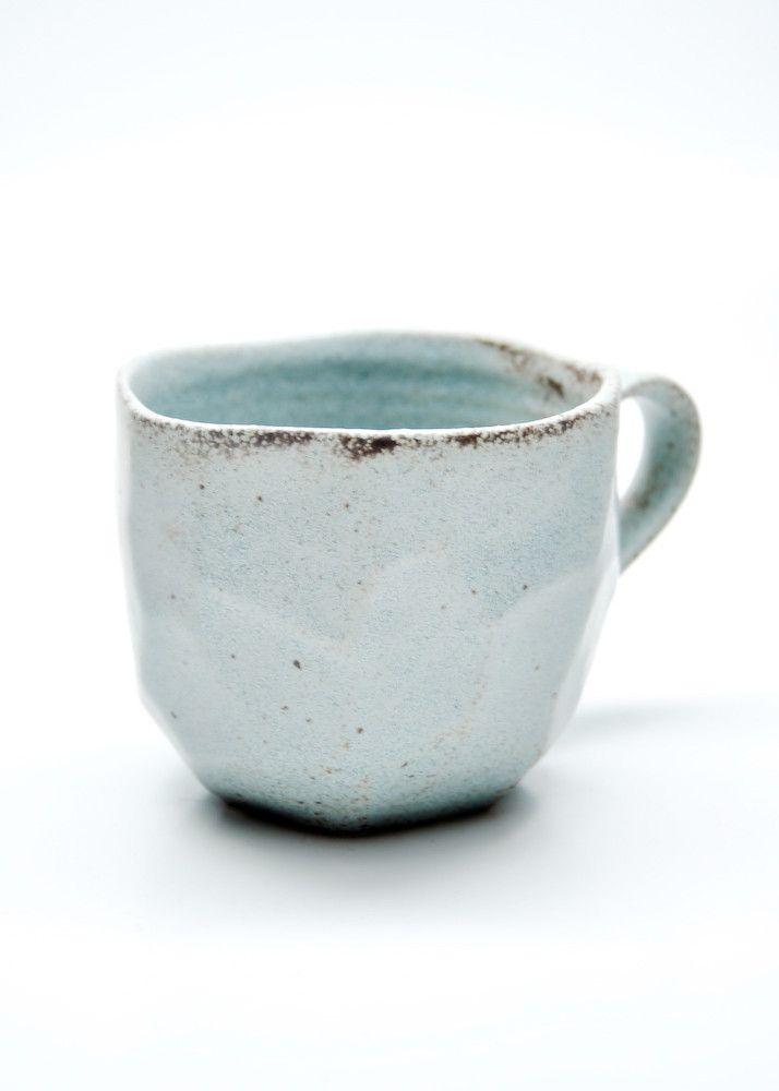 faceted boulder mug. made in japan.   ceramics   Pinterest   Keramik ...