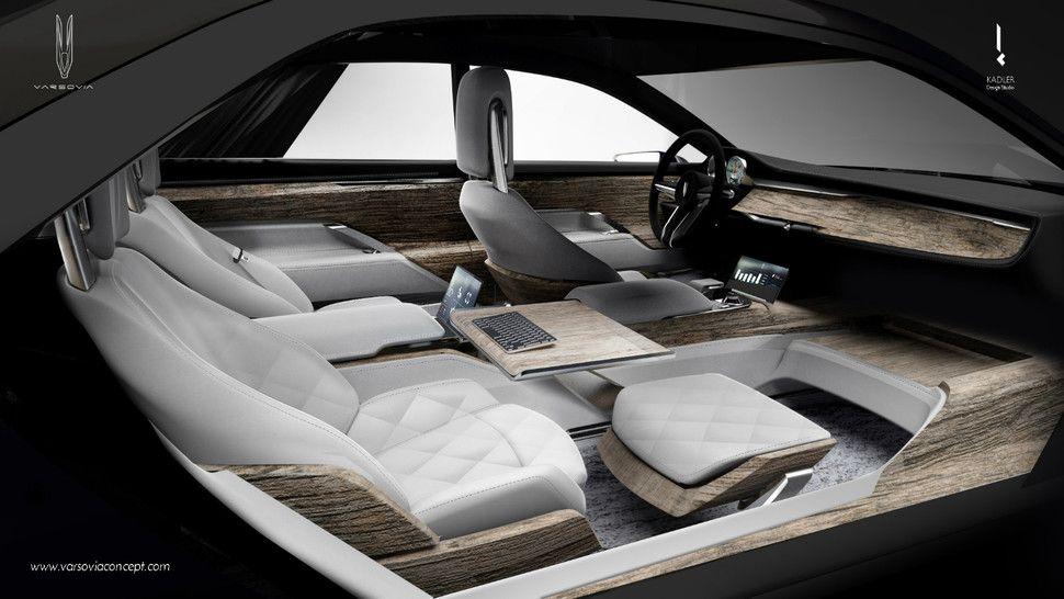 varsovia electric luxury mobile office concept