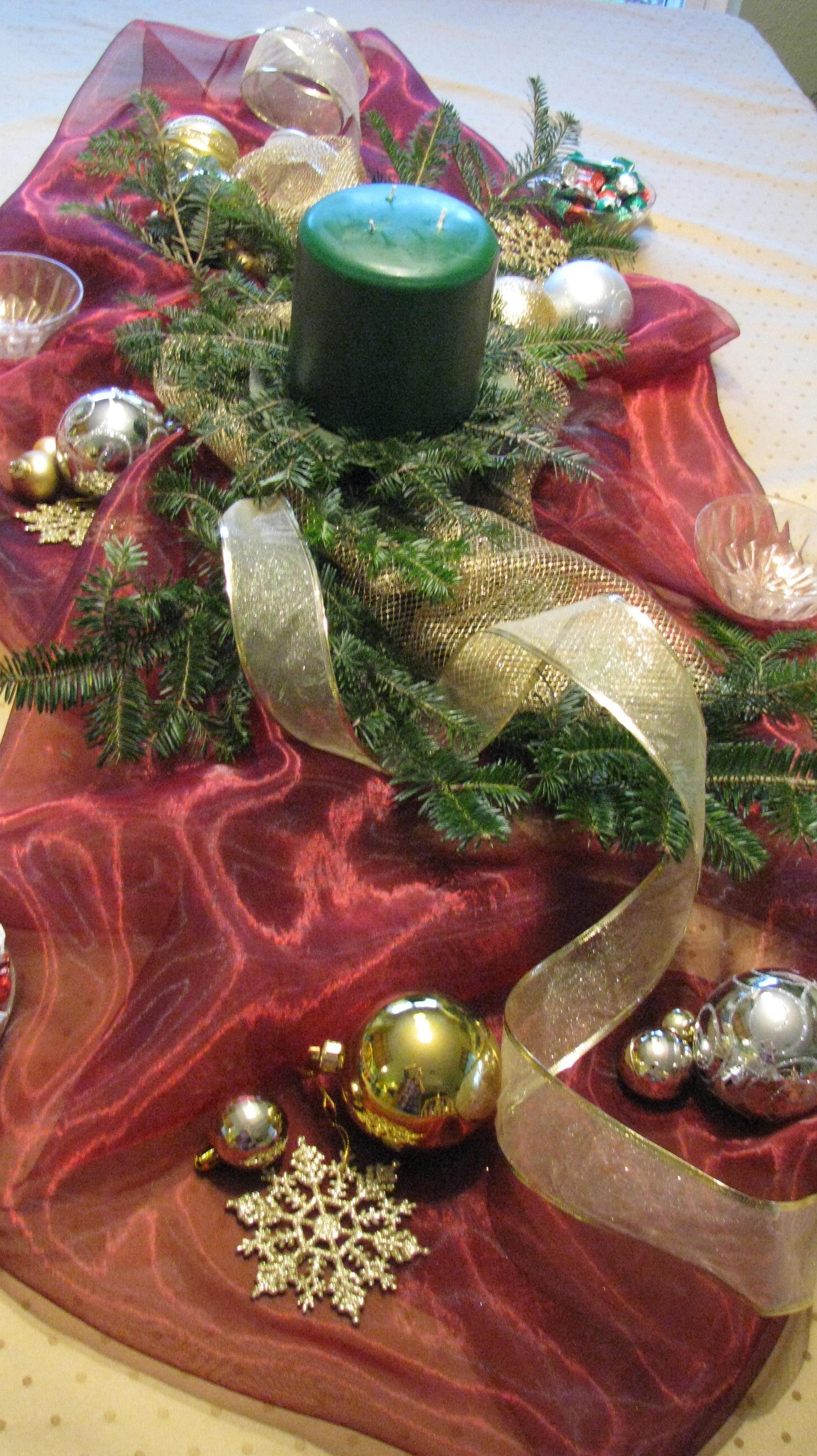 Christmas Decorations For Table #Christmas #Christmastime #Christmasideas #Christmasday